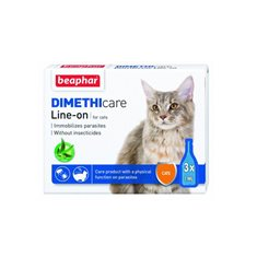 Beaphar Dimethicare Flea & Tick Line-On Katt