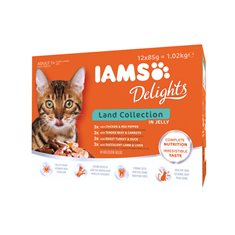 Iams Delights Sea Collection in Jelly Multipack