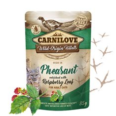 Carnilove Cat Pouch Pheasant enriched with Raspberry Leaves