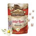 Carnilove Cat Pouch Wild Boar enriched with Chamomile