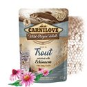 Carnilove Cat Pouch Trout enriched with Echinacea