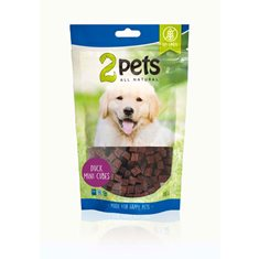2pets Dogsnack Duck MiniCubes